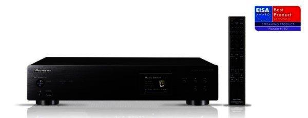 Pioneer N-50-K - Netzwerk Audio Player mit USB DAC - schwarz