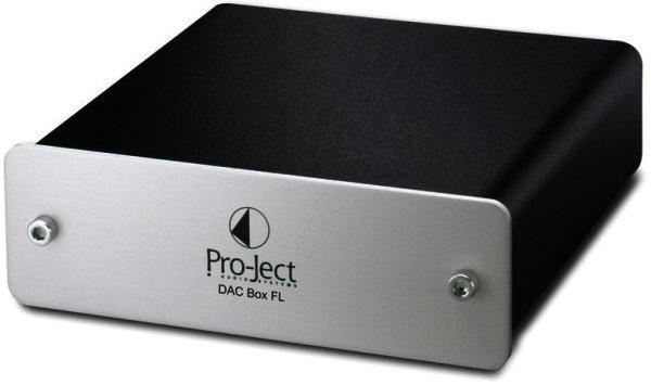 Pro-Ject DAC Box FL - D/A Wandler - silber