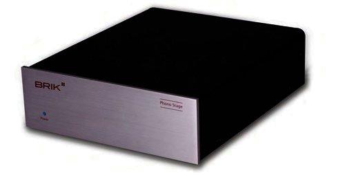 BRIK Phono Stage - Phonovorverstärker MM / MC - Silber