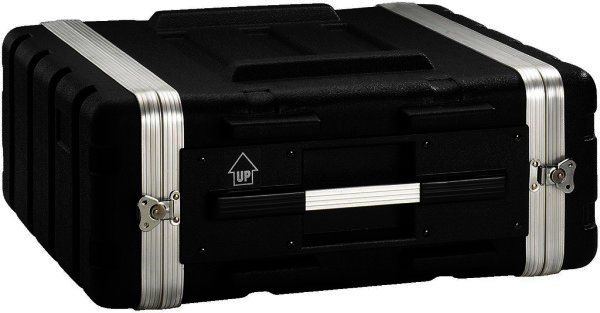 """MR-104 Hartschalen Flightcase für 482mm-Geräte 19"""" 4HE"""
