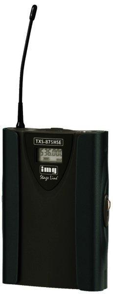 TXS-875HSE - Mikrofonsender, Taschensender, 518-542 MHz, 3-polig XLR,