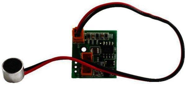 Mikrofonmodul Audioverstärker + Elektret-Mikrofonkapsel