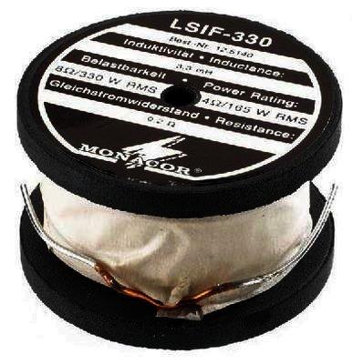 LSIF-330 Ferritkernspule 3,3mH 330W RMS, Draht 1,4mm