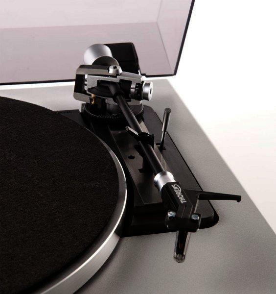 Thorens TD 190-2 Vollautomatischer Plattenspieler - silber
