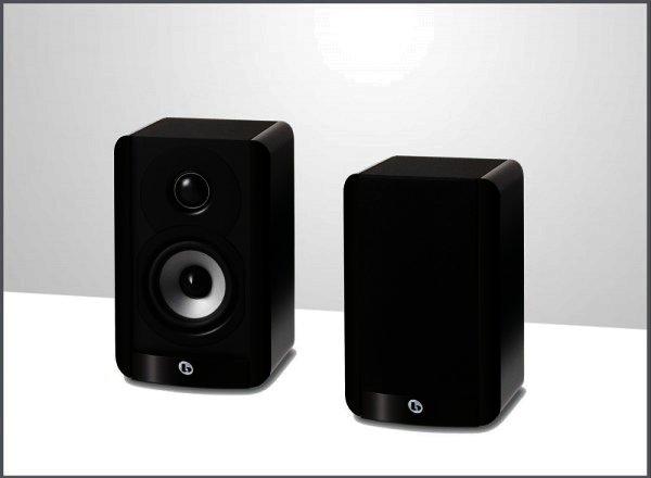 "Boston Acoustics A23 Regal Lautsprecher 2 Wege 3,5"" Schwarz Paar"