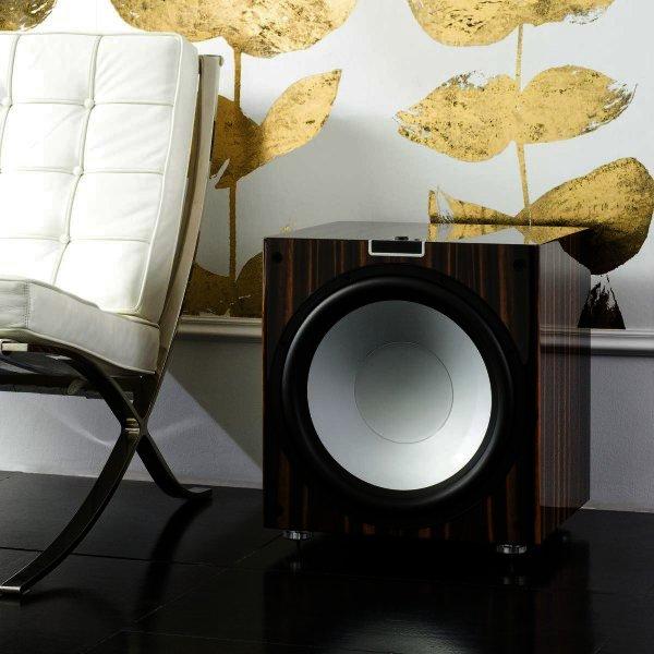 Monitor Audio Gold W15 Subwoofer mit 38cm Bass und DSP