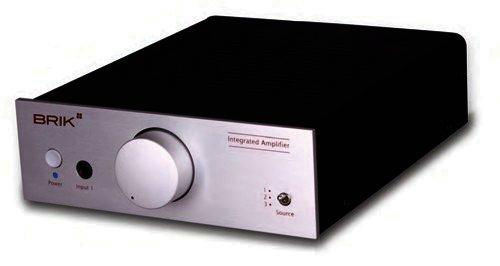 Brik Vollverstärker - Integrated Amplifier - Silber