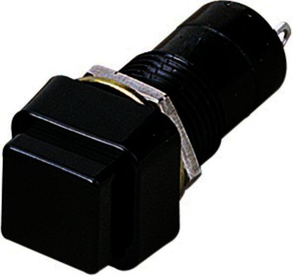 MS-198PO/SW Drucktaster 1-polig, mit Zentralbefestigung