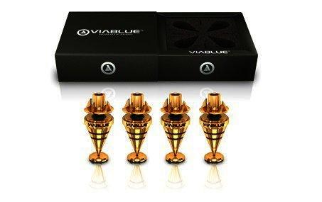ViaBlue HS Spikes mit M6 Gewinde - 4 Stück, Gold