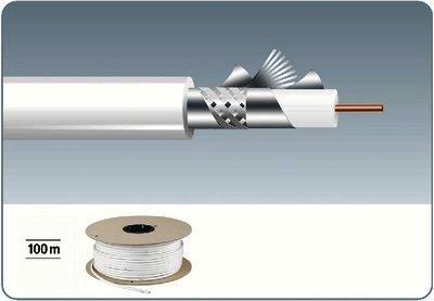 ACC-68/100 - Hochwertiges Koaxial-Antennenkabel,
