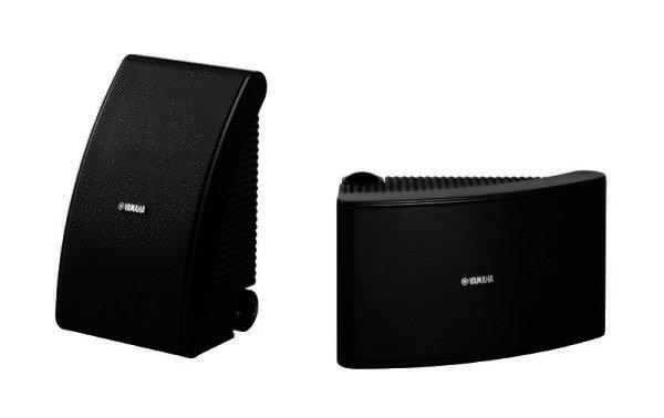 Yamaha NS-AW592 Outdoor-Lautsprecher schwarz Paar