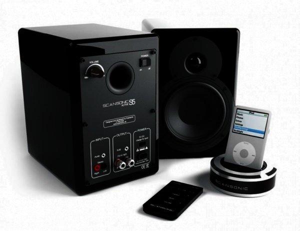 Scansonic S5 2x50 Watt Aktiv Lautsprecher