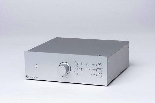 Pro-Ject Phono Box DS2 USB - Phonovorverstärker mit USB in silber