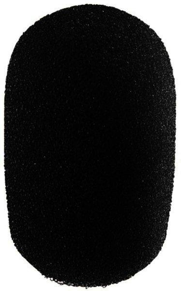 WS-300/SW Mikrofon-Windschutz schwarz, Mikrofon Ø 4-6mm