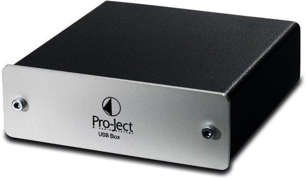 RETOURE - Pro-Ject USB Box - SILBER