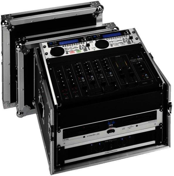 MR-106DJ - Flightcase für 482mm-Geräte, 19 Zoll, 6HE