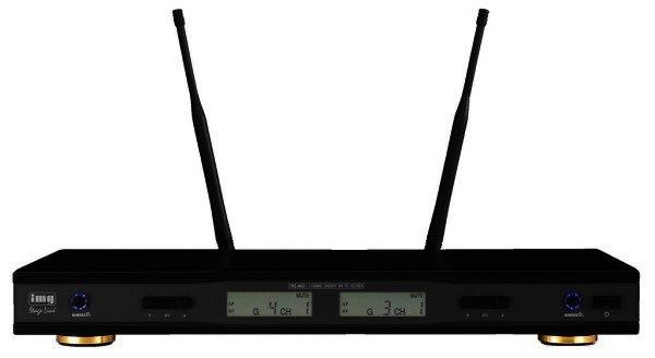 TXS-865 2 Kanal Empfänger für Funkmikrofone, Taschensender, REMOSET, 506-542 MHz