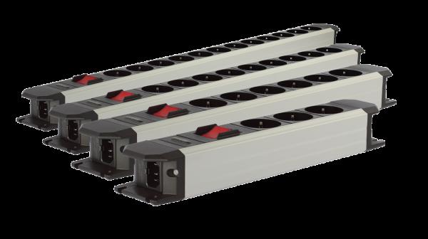 Goldkabel Powerline Flex Hifi Netzleiste mit und ohne Schalter