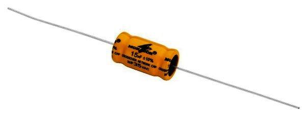 Bipolarer Elektrolytkondensator 15µF, RM 25mm, 4 Stück