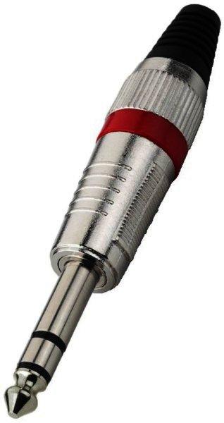 T-120/RT 6,3mm Stereo Klinkenstecker Kabeleinlass Ø 7mm