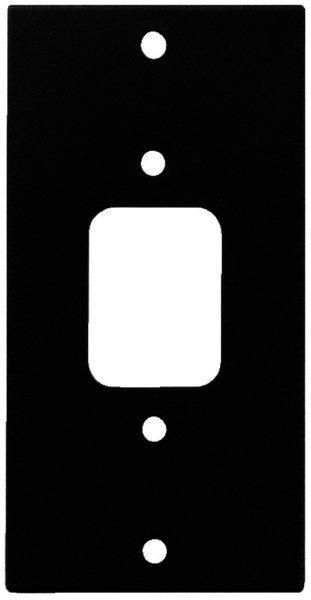 RSP-1IECP Rackblende für 1 x Kaltgeräte-Einbaustecker
