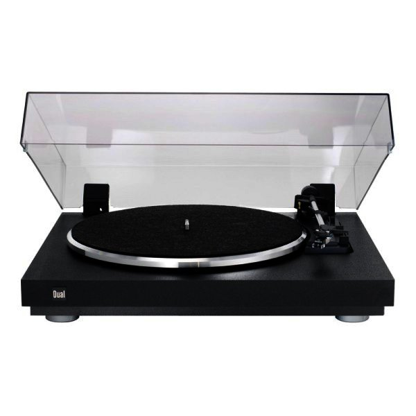 Dual CS 440 Plattenspieler mit Magnet-Tonabnehmer DMS 251 S - Vollautomatisch - Schwarz