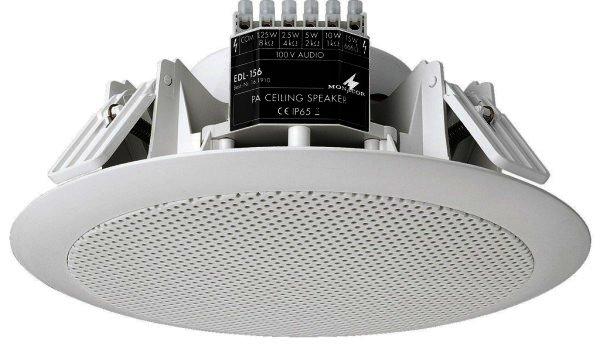 EDL-156 ELA Einabu Deckenlautsprecher, Ø 226mm x 100mm