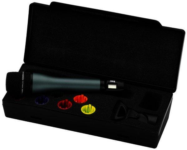 TXS-895HT - Handmikrofonsender, Funkmikrofon mit Sender, 518-542 MHz, Mikrofon