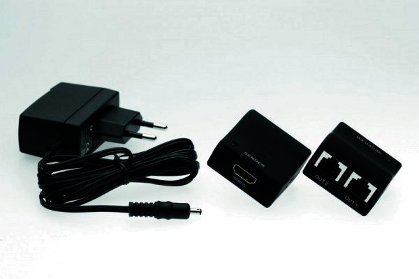 Silent Wire HDMI auf RJ45 Netzwerk - Serie 16