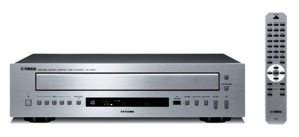 Yamaha CD-C600 - 5-fach CD-Wechsler - silber