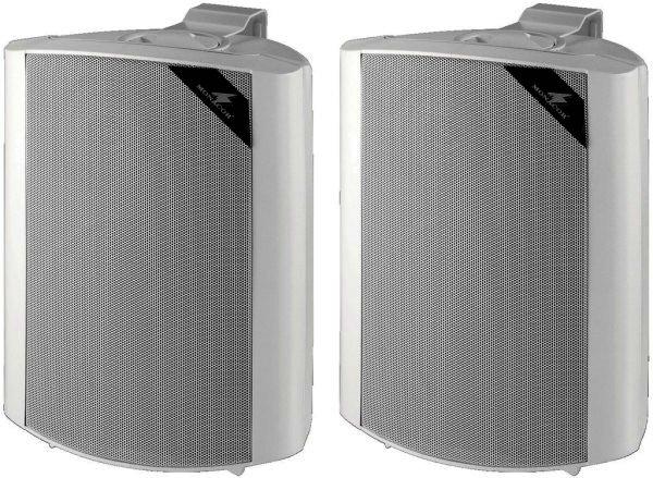 MKS-64/WS 2-Wege Lautsprecher Boxen, weiß, Paarpreis!