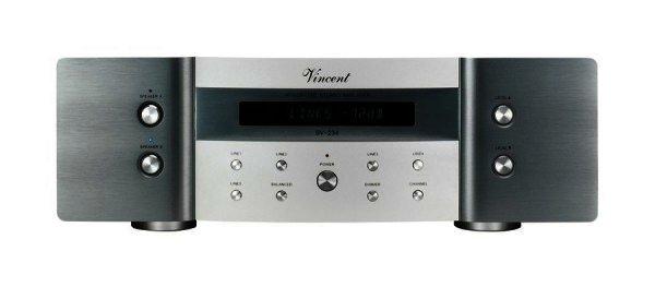 AUSSTELLER Vincent SV-234 Stereo Verstärker - Vollverstärker Silber