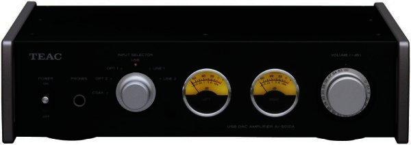 TEAC AI-501DA - Verstärker mit 192 kHz USB Eingang - schwarz