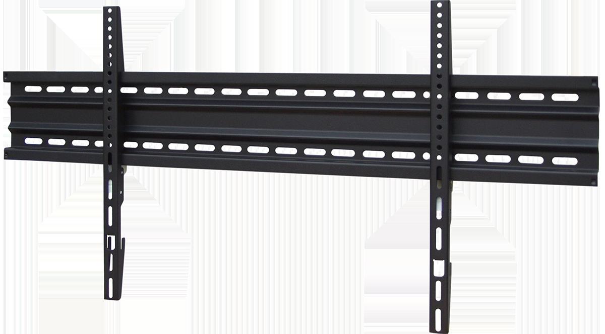 black connect tv wandhalterung slim mount 840 75 zoll musikus hifi shop. Black Bedroom Furniture Sets. Home Design Ideas
