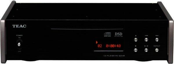 RETOURE - TEAC PD-501HR - CD-Player mit nativer Wiedergabe von DSD-Dateien - schwarz