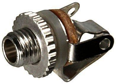 Klinkeneinbaubuchse - 2,5 mm - mono offene Bauart