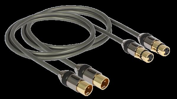 Goldkabel XLR Kabel - Stereo, aus der Profi Serie