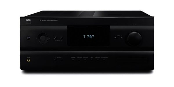 NAD T787 - NAD 7.1 AV Receiver, schwarz, graphite - 7x120 Watt