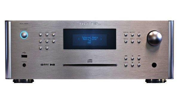 Rotel RCX-1500 CD Receiver in silber und schwarz