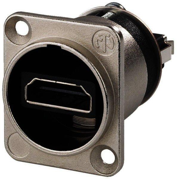 NAHDMIW - Neutrik HDMI-Durchgangs-Einbaubuchse