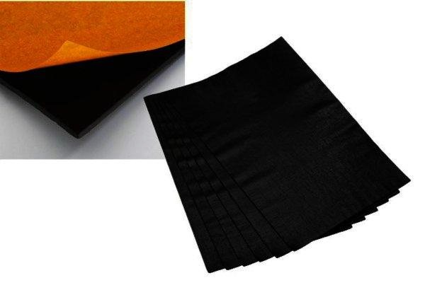 MDM-830 Bitumen-Schwerfolie, 6 Platten (1m²), ca. 5kg