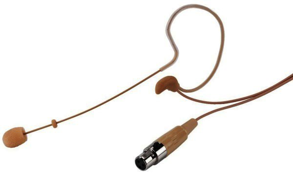 HSE-60/SK Hyperleichtes Ohrbügelmikrofon 3-Pol Mini-XLR