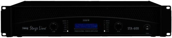 STA-600 - Professionelle Stereo-PA-Verstärker 1000W MAX