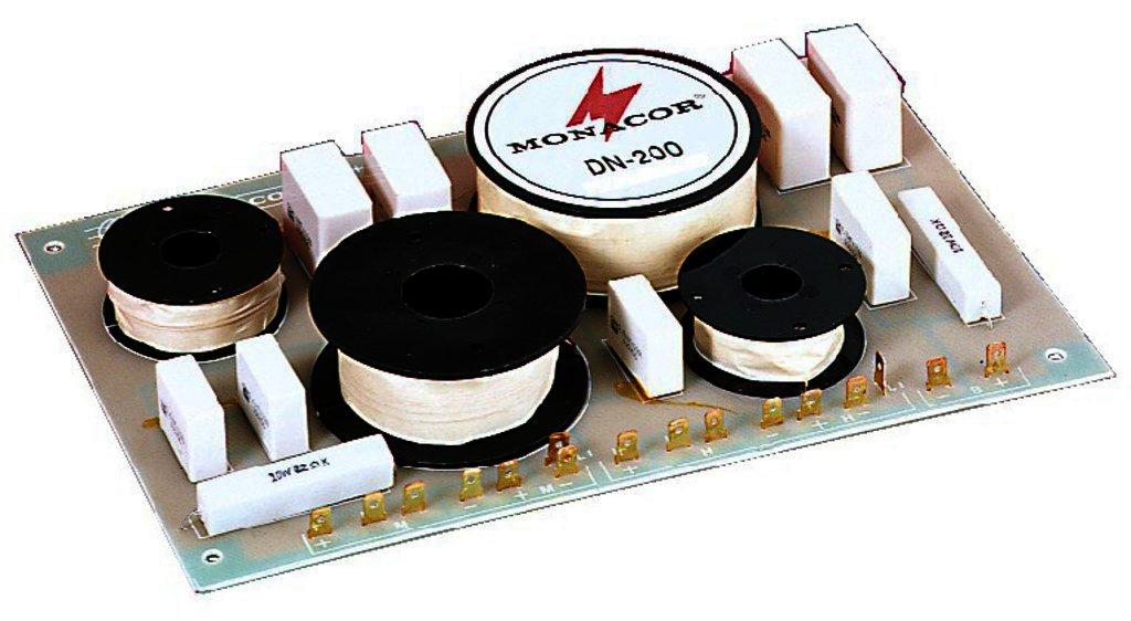 dn 200 lautsprecher 3 wege frequenzweiche f r 8 ohm frequenzweichen elektronische bauteile. Black Bedroom Furniture Sets. Home Design Ideas