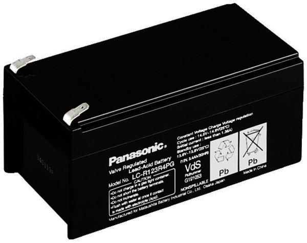 NPA-12/3 PANASONIC LC-R123R4PG - Blei-Akku 12V/3,4Ah