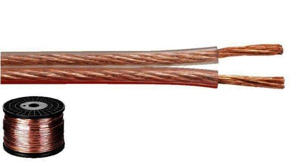 SPC-115CA - Lautsprecherkabel 2x1,5mm² - 100 Meter