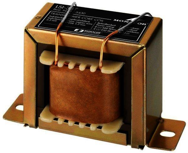 LSI-33T Trafokernspule 500W 8 Ohm / 250W 4 Ohm - 3,3mH