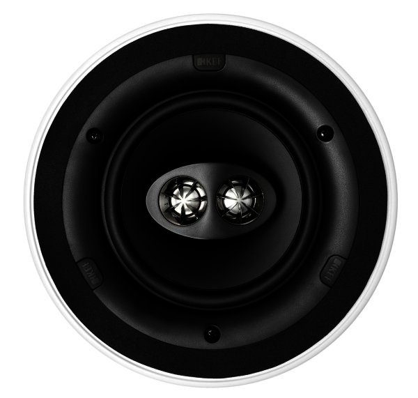 KEF Ci160CRds - Doppel Stereo Lautsprecher, Einbau