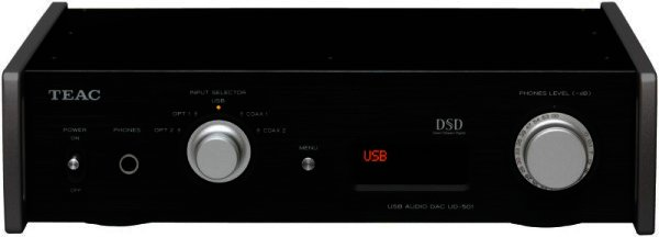 TEAC UD-501 DSD / PCM fähiger DA-Wandler DAC - schwarz