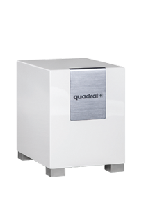Quadral QUBE 8 - aktiver Subwoofer - schwarz hochglanz